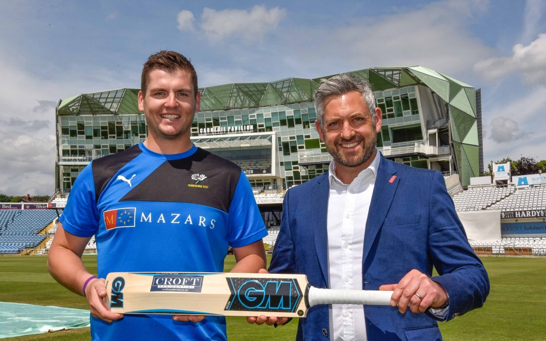 CROFT SPONSORS MATT FISHER AT YCCC SECOND YEAR RUNNING